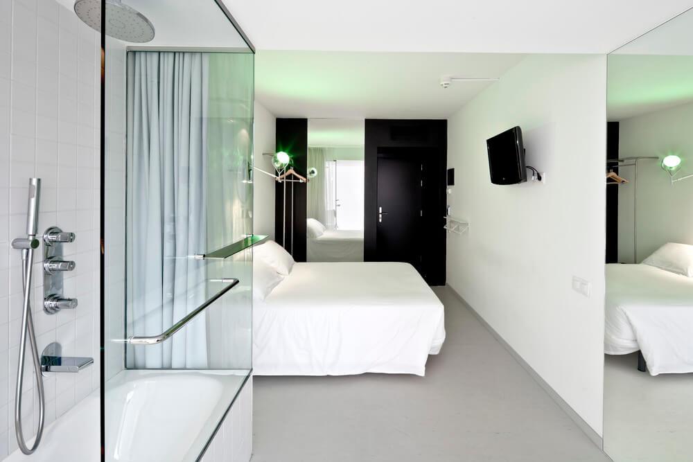 Schoon hotelkamer