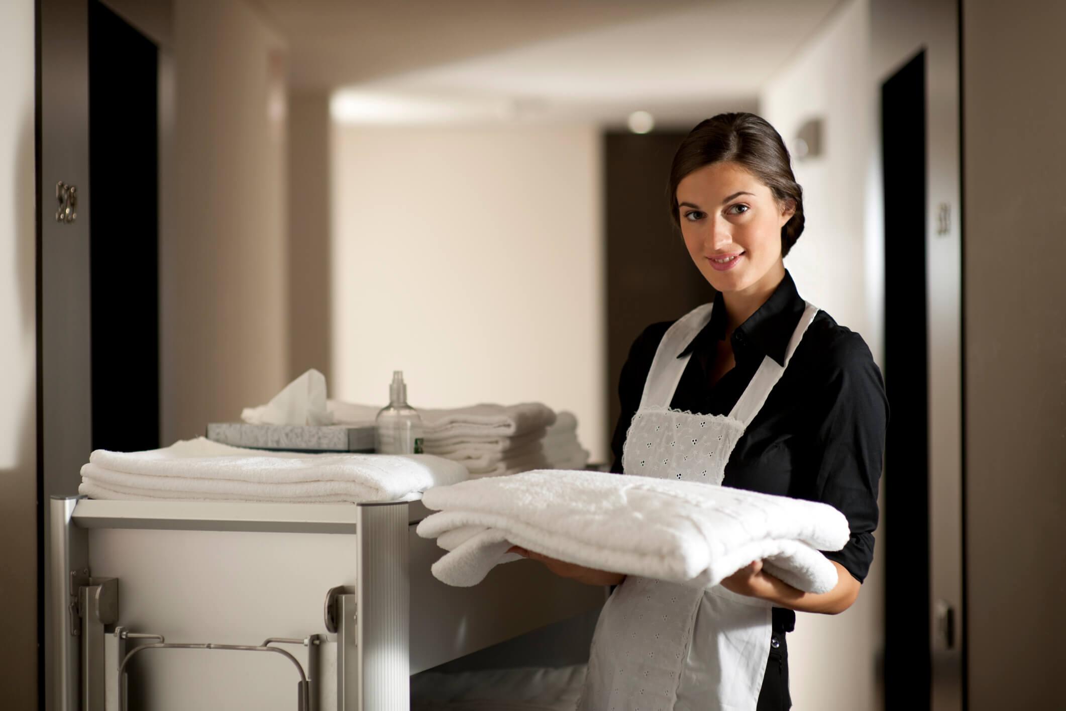 Gastvrij schoonmaakpersoneel voor hotels